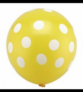 Balão Amarelo Pintas
