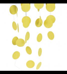Faixa Bolas Amarelas 5.5cmx4m