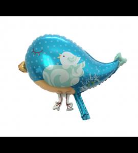 Balão Pássaro Azul