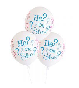 6 Balões He or She?