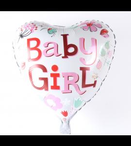 Balão Coração Baby Girl