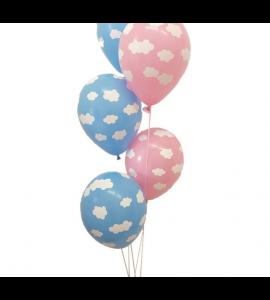 Balão Nuvens