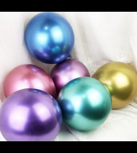 Balão Latex Cor Metálica-rosa