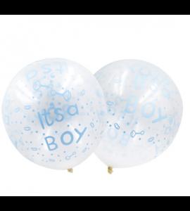 Balão Its a Boy Transparente