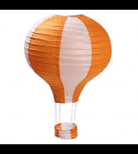 Balão Ar Quente de Papel Laranja