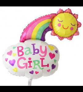 Balão Arco-Íris Rosa