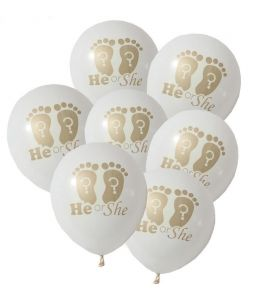 5 Balões Pezinhos He or She?
