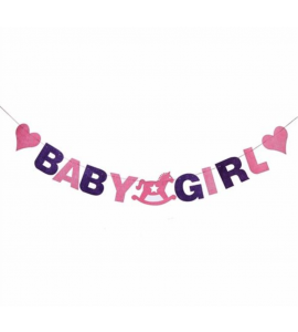 Faixa Baby Girl Feltro