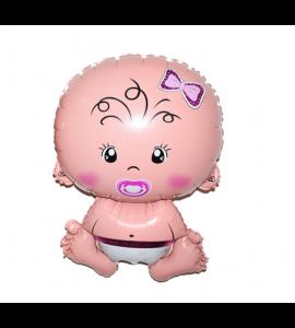 Balão Menina 76 x 50 cm