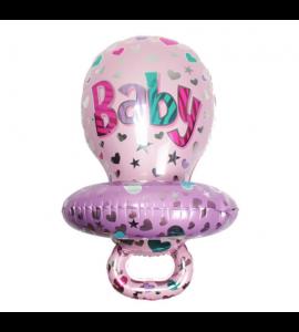 Balão chupeta Rosa