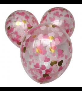 Balão Transparente Corações