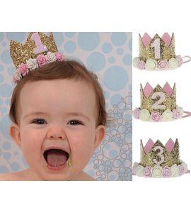 Coroa Aniversário Princesa N1