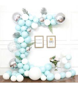 Kit Arco Balões com Balões e Folhas