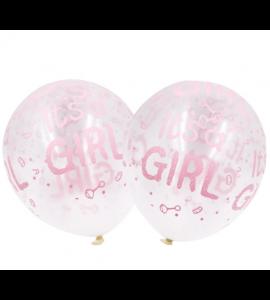 Balão Its a Girl Transparente