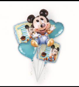 Pack Balões Mickey 1ºaniversário