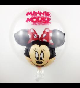 Balão Minnie Bolha