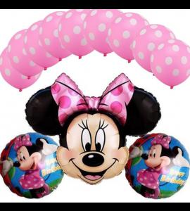 Conjunto Balões Minnie