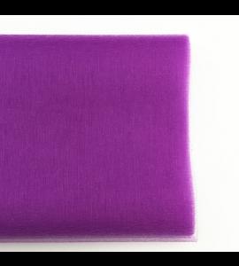Organza Tule Roxo 4,5m x 48 cm