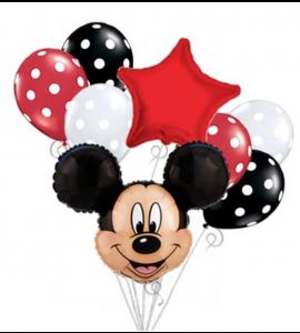Pack Vermelho Cara do Mickey