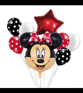 Pack Vermelho Cara da Minnie