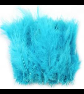 50 Penas Artificiais Azul
