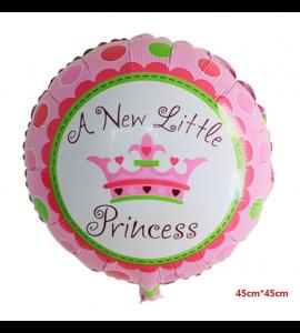 Balão Redondo Little Princess