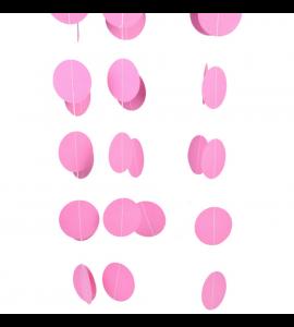 Faixa Bolas Rosa 5.5cmx4m