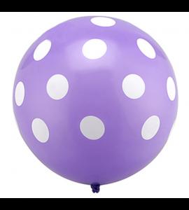 Balão Roxo Pintas