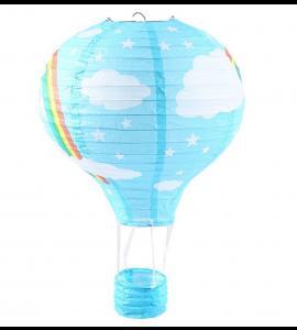 Balão Ar Quente de Papel Céu