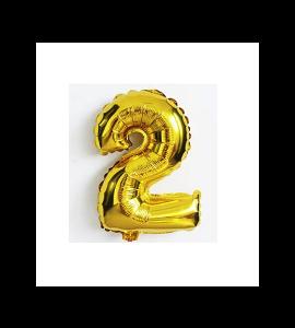 Balão número 2 - Dourado