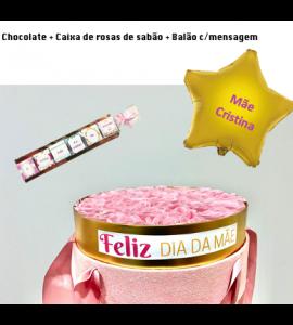 BOX Dia da Mãe: Choco+Caixa+Balão