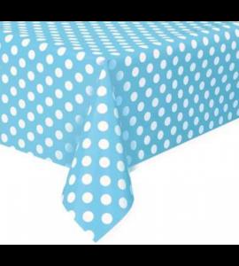 Toalha Azul às Bolinhas 108cm x 180cm