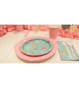 Small Table Kit - Flamingo Party