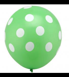 Balão Verde Pintas