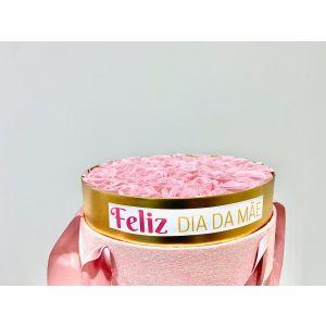 """Caixa de Rosas """"Feliz Dia da Mãe"""""""