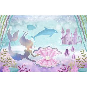 Sereia - Poster de Fundo 220x150cm