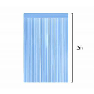 Cortina Fitas Azuis 2m x 1m