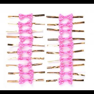 20 Laços Envoltórios Rosa