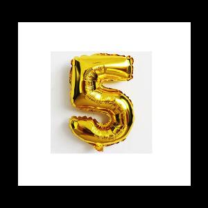 Balão número 5 - Dourado