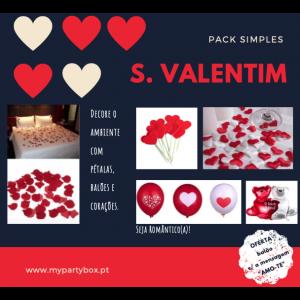 Pack Simples - S. Valentim