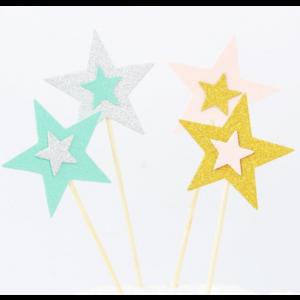 5 Sticks Estrelas Pastel